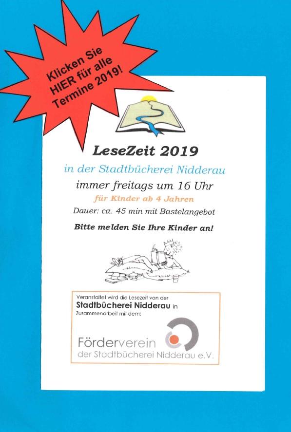 Stadtbücherei Nidderau Willkommen